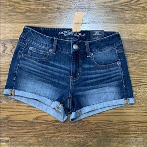 American Eagle Jean Shorts Size 4